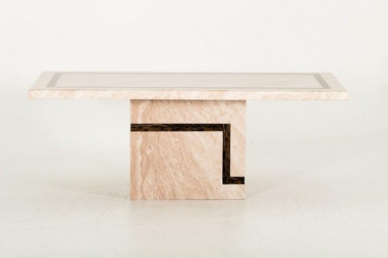 Masa din marmura Filippo Cream, L160xl90xH75,5 cm