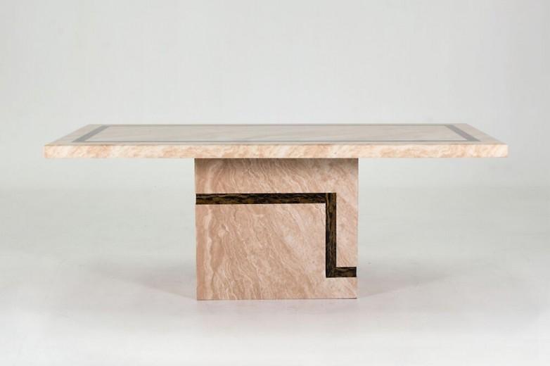 Masa din marmura Filippo Cream, L200xl100xH75,5 cm