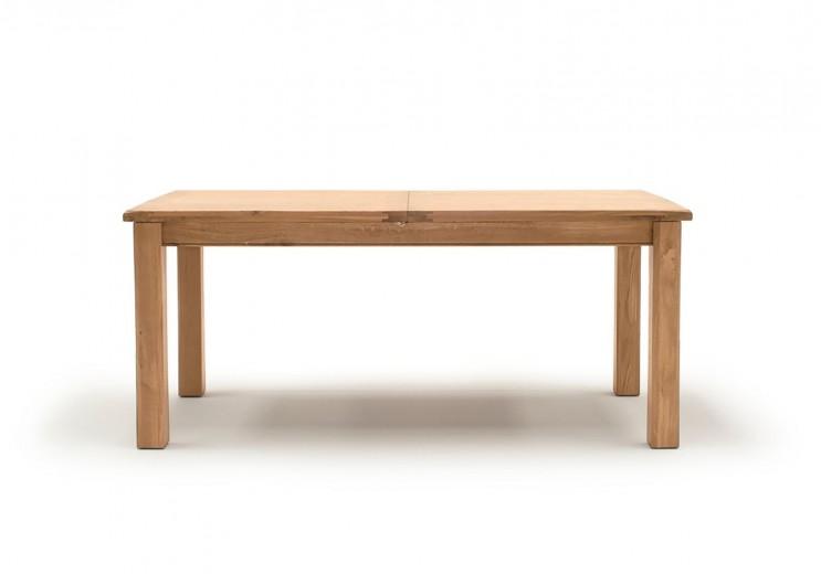 Masa extensibila din lemn de stejar si furnir Breeze Oak, L140-180xl85xH77 cm