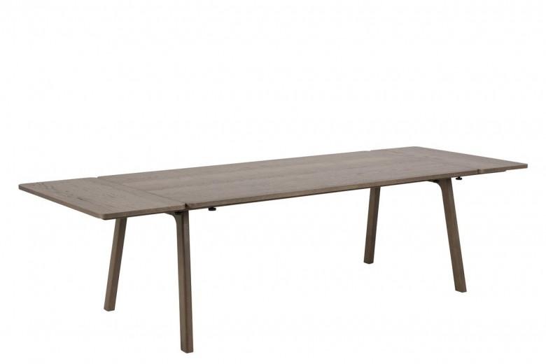 Masa extensibila din lemn si furnir de stejar Nordi Stejar, L200-290xl100xH75 cm