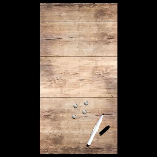 Memo Board Wood MB137, 30 x 60 cm