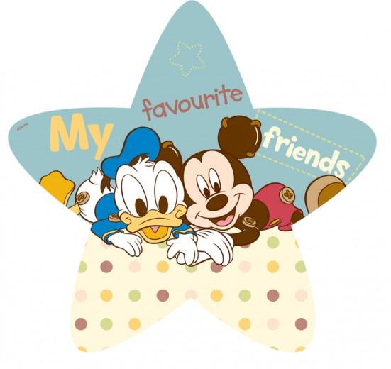 Covor Kids Mickey Babies Steluta 304, Imprimat Digital
