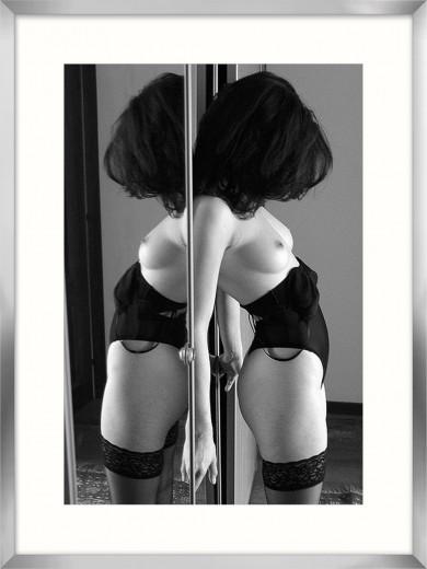 Tablou Framed Art Mirroring By Crisbasan