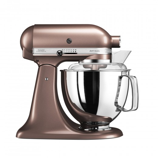 Mixer cu bol Artisan Elegance 5KSM175PSEAP, 4,8 L, Apple Cider, 300W, KitchenAid