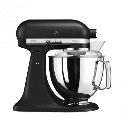 Mixer cu bol Artisan Elegance 5KSM175PSEBK, 4,8 L, Black, 300W, KitchenAid