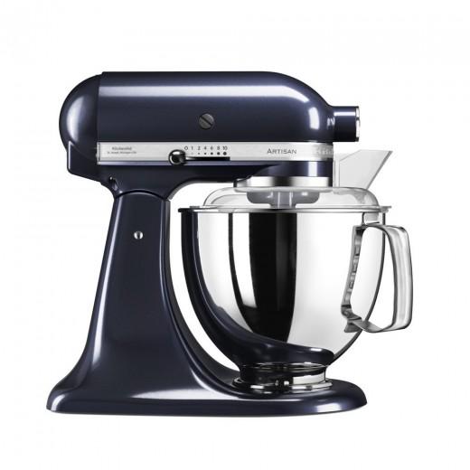 Mixer cu bol Artisan Elegance 5KSM175PSEUB, 4,8 L, Blueberry, 300W, KitchenAid