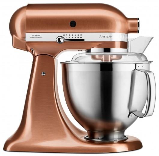 Mixer cu bol Artisan Elegance 5KSM175PSECP, Copper, 4,8 L, 300W, KitchenAid