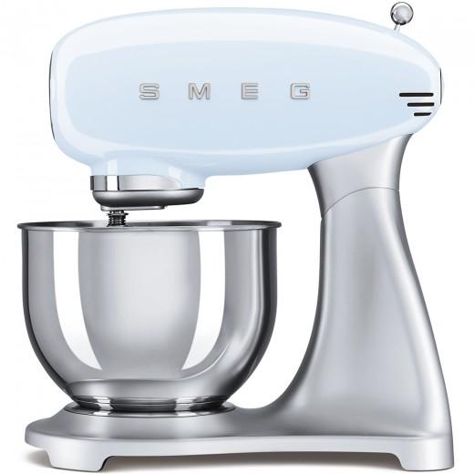 Mixer cu bol SMF01PBEU, Albastru pastel, Retro 50, SMEG