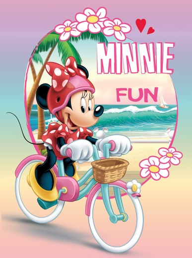 Covor Disney Kids Minnie Fun 016, Imprimat Digital