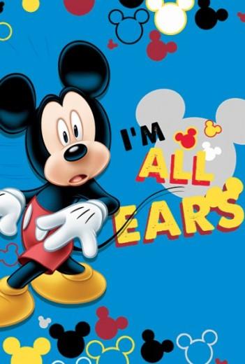 Covor Disney Kids Club House Mickey Mouse 02, Imprimat Digital