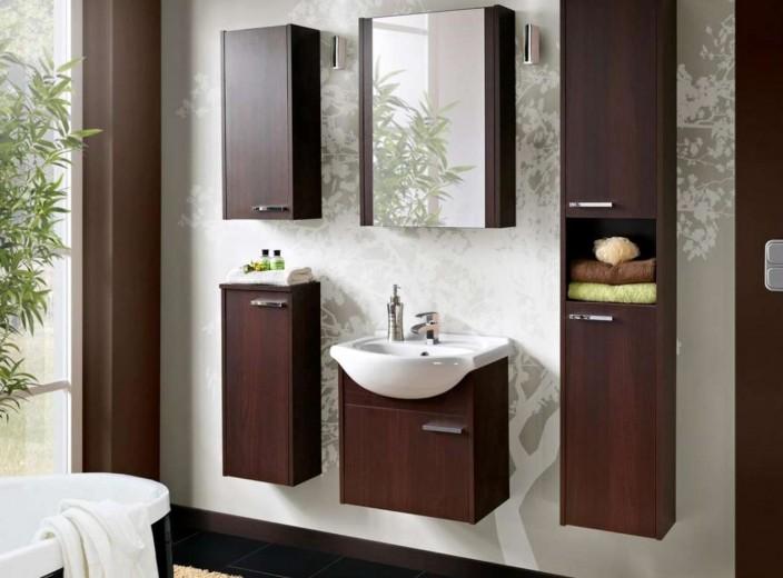Set Mobilier pentru baie, 6 piese, New York
