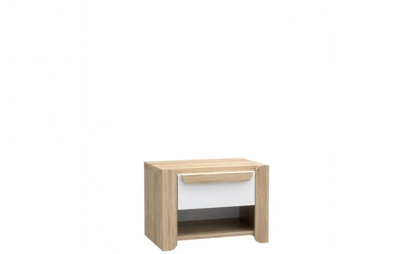 Noptiera cu un sertar Lacio, l60xA41xH44 cm