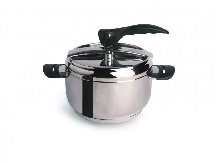 Oala sub presiune din otel inoxidabil, 3,5L, Ø20 cm, Professional Cook Crom