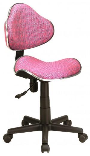 Scaun de birou Q-G2 Roz cu model