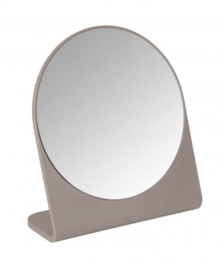 Oglinda cosmetica de masa, Marcon Taupe, l19xH17,5 cm