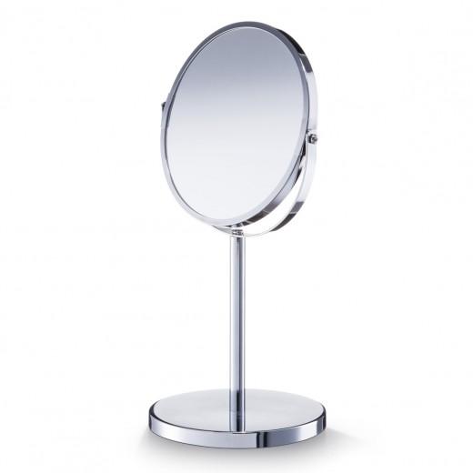 Oglinda cosmetica de masa, Metal Cromat, Ø 15xH35 cm