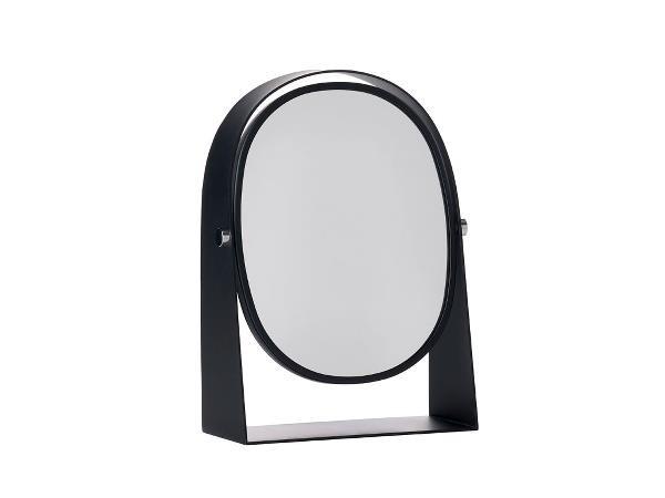 Oglinda cosmetica de masa Zone Round Dark, l22,5xH15,8 cm, Zone Denmark