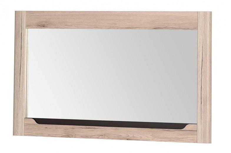 Oglinda decorativa cu rama din pal Desjo 30 Stejar San Remo, L118xl70 cm