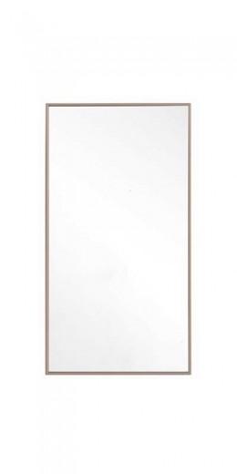Oglinda decorativa cu rama din pal Gold Nuc, l40,6xH75,6 cm