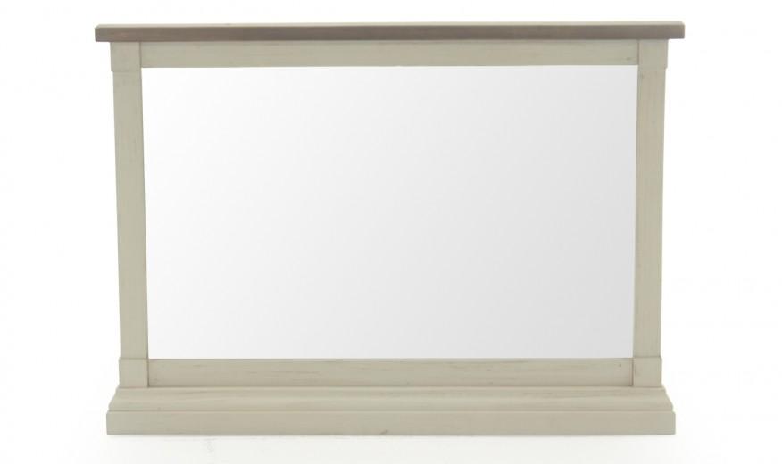 Oglinda decorativa din lemn de pin Croft Antique White, l94,4xA5xH68 cm