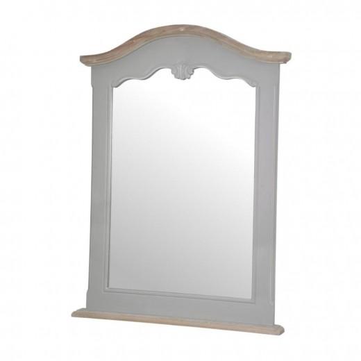 Oglinda decorativa din lemn de plop si MDF, Catania CAT052