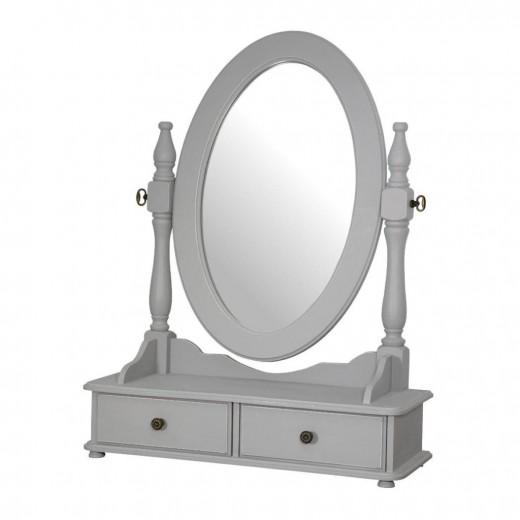 Oglinda decorativa din lemn de plop si MDF, Catania CAT060