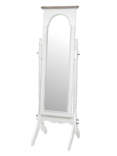 Oglinda decorativa din lemn de plop si MDF, Ravenna RA025