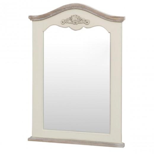 Oglinda decorativa din lemn de plop si MDF, Rimini RI053