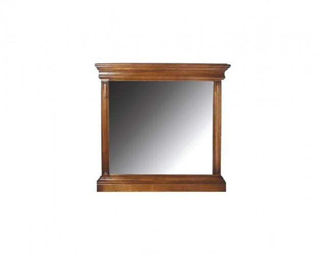 Oglinda decorativa din lemn de stejar Valentino Oak, l118xA7,5xH118 cm