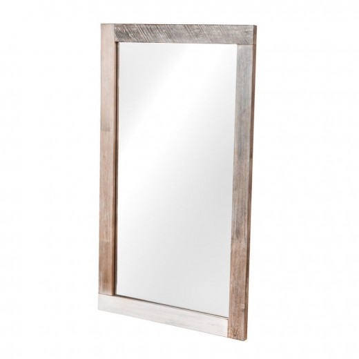Oglinda din lemn de salcam si MDF, Adesso L09