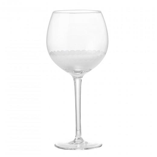 Pahar de vin din sticla Clear Ø9,5xh21,5 cm