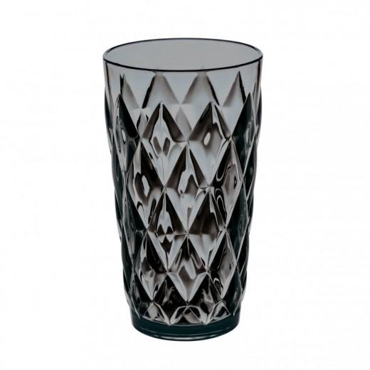 Pahar pentru apa Unbreakable Superglas Gri, Crystal L, 450 ml