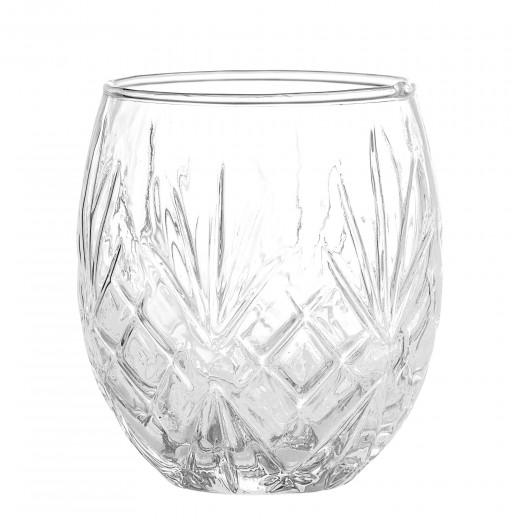 Pahar pentru periuta de dinti Clear Glass, Ø9xH10 cm