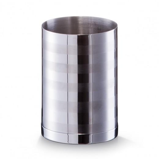 Pahar pentru periuta din otel inoxidabil, Ø 7xH10 cm