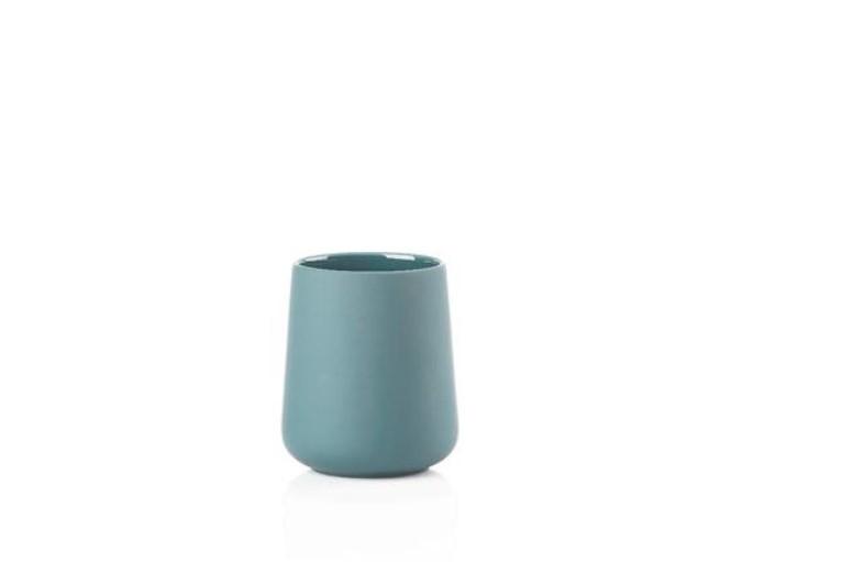Pahar pentru periute Nova 332042 Albastru, Ø8xH10 cm, Zone Denmark