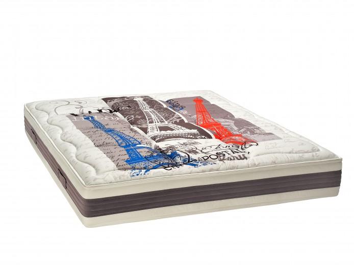 Saltea Paris Memory Latex, 20 cm + Perne Cadou