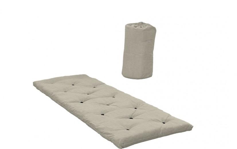 Pat Bed in a Bag Linen, L190xl70 cm
