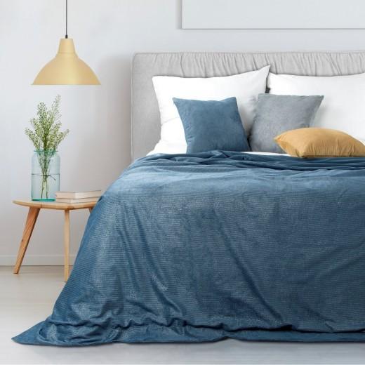 Patura Ibbie Albastru inchis, 220 x 240 cm