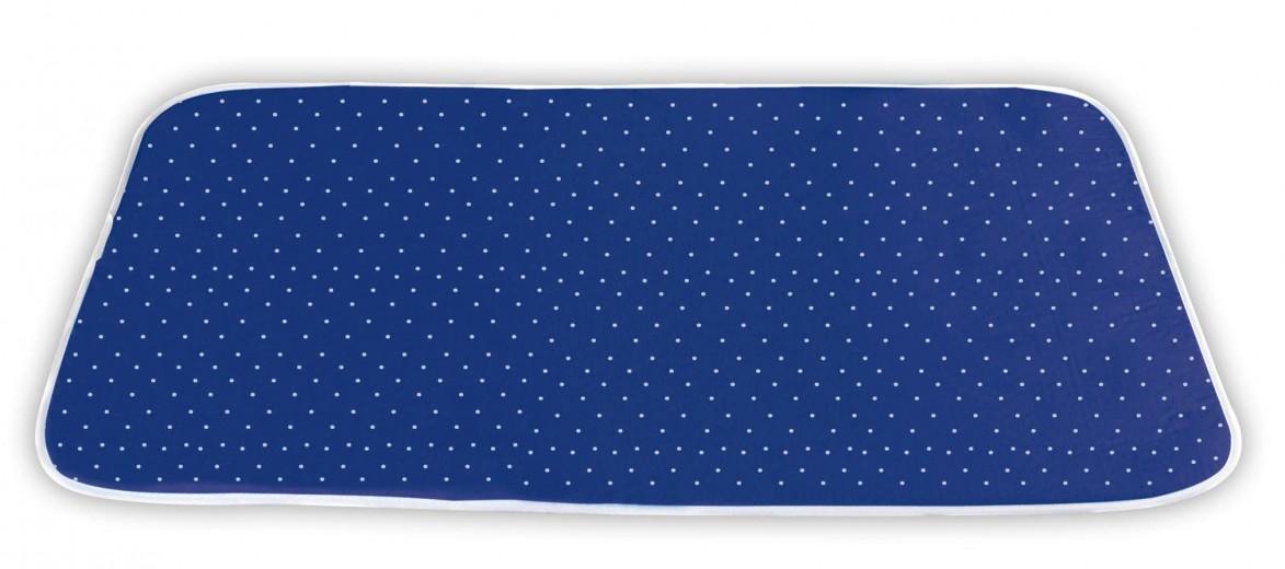 Patura pentru calcat cu strat superior din bumbac, Steam Albastru, L100xl65 cm
