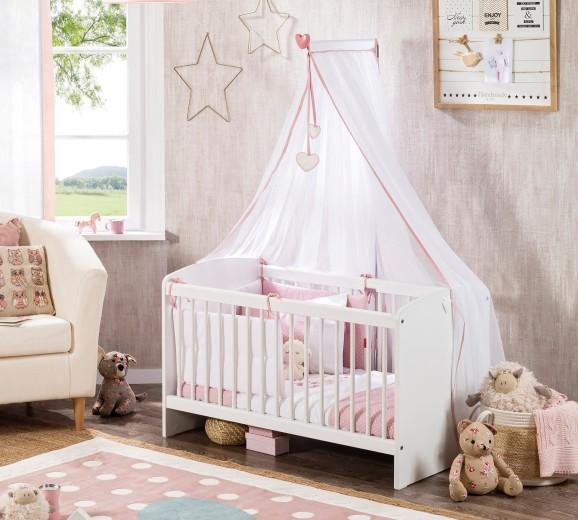 Patut din pal, pentru bebe Cradle Baby Alb, 100 x 50 cm