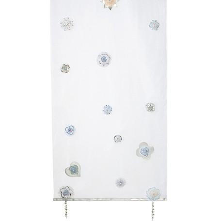 Perdeluta decorativa din organza pentru copii, Silversparkle, L268xl77,5 cm