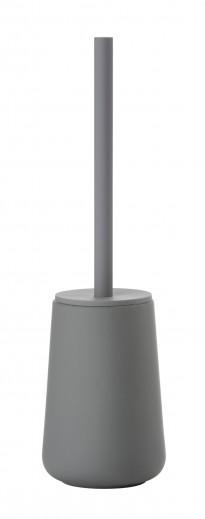 Perie toaleta cu suport ceramic Nova One, Zone-Gri
