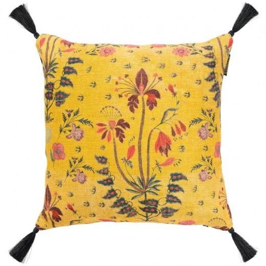 Perna decorativa Gypsy Ochre Yellow, L50xl50 cm