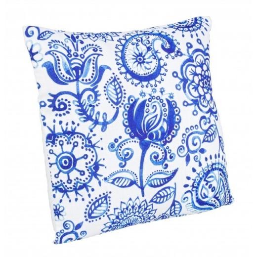 Perna decorativa Kitty Albastru, L40xl40 cm