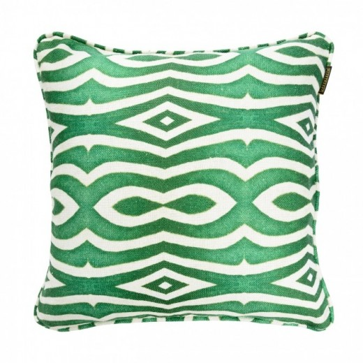 Perna decorativa Riverside Green / Anthracite, L50xl50 cm