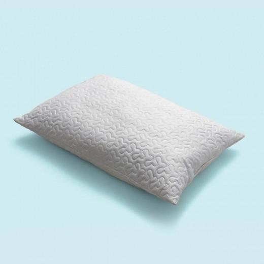 Perna umpluta cu fibre din silicon Dynamic Lova, 50 x 70 cm