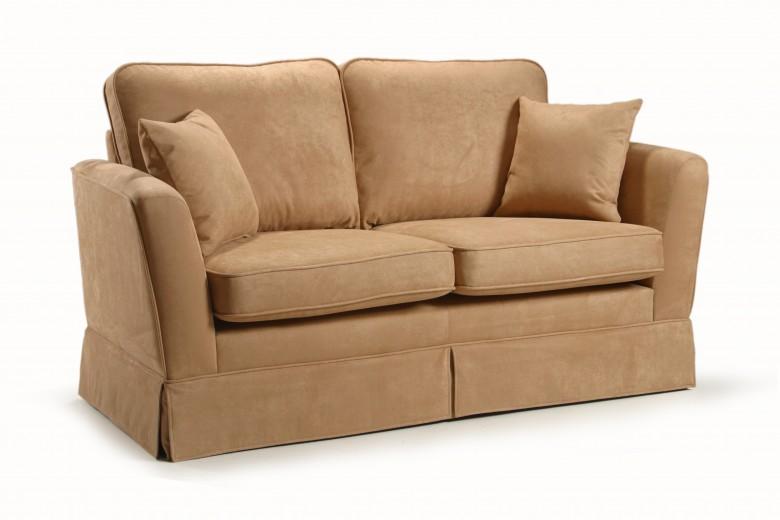 Canapea fixa 2 locuri tapitata cu stofa Peter