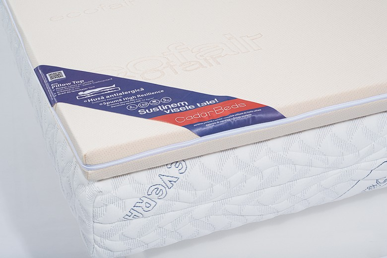 Saltea suplimentara Bio Pillow Top, 6 cm
