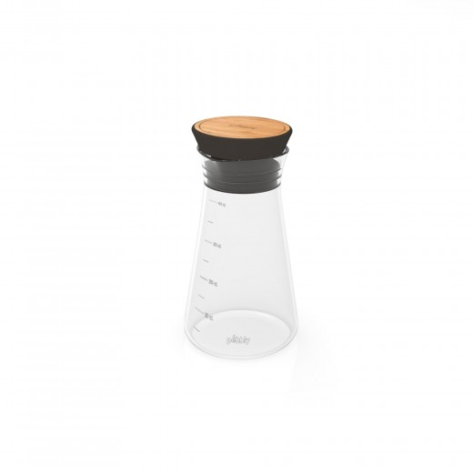 Oliviera cu dop din bambus Shaker 330 ml