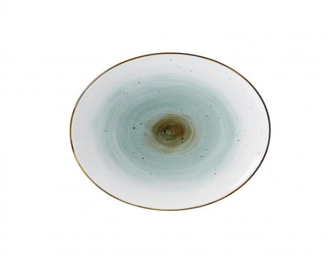Set platouri servire Cosmo Blue, Via, 26 x 21 cm, 4 piese